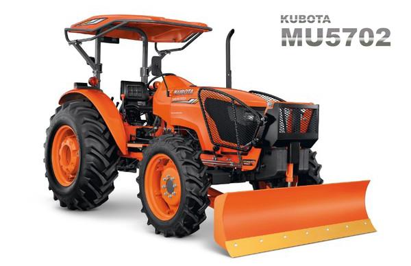 Máy kéo Kubota MU5702 hinh anh 1