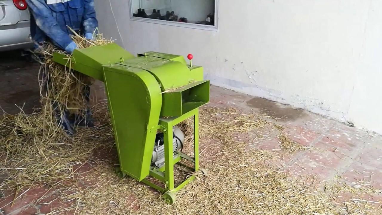 Máy băm rơm băm cỏ đa năng UN9ZT-0.6 hinh anh 1