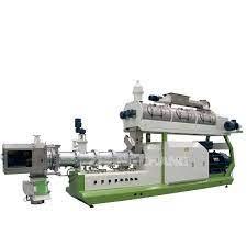 Máy đùn thức ăn thủy sản trục vít đôi SPHS130×2 hinh anh 1