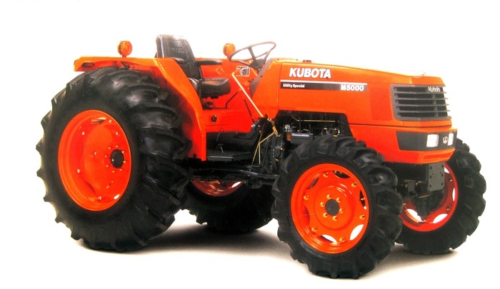 Máy cày KUBOTA M5000 hinh anh 1