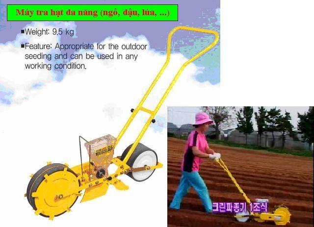 Máy tra hạt ngô và gieo trồng hạt hinh anh 1