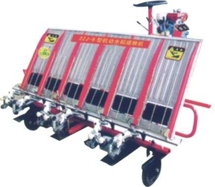 Máy cấy lúa 6 hàng tay cấy Robot 2ZT-6300B hinh anh 1