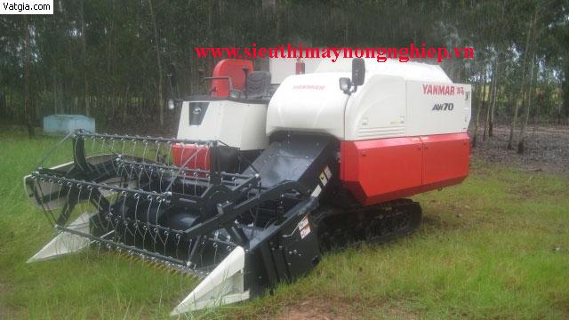 Máy gặt đập liên hợp Yanmar AW70V hinh anh 1