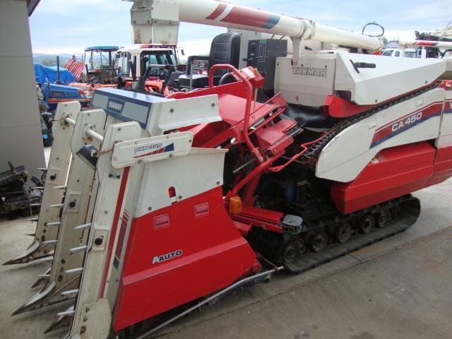 Máy gặt đập liên hợp Yanmar CA-450 hinh anh 1