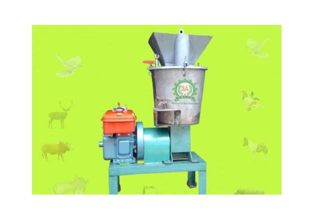Máy chế biến thức ăn chăn nuôi động cơ Diesel/5Hp hinh anh 1