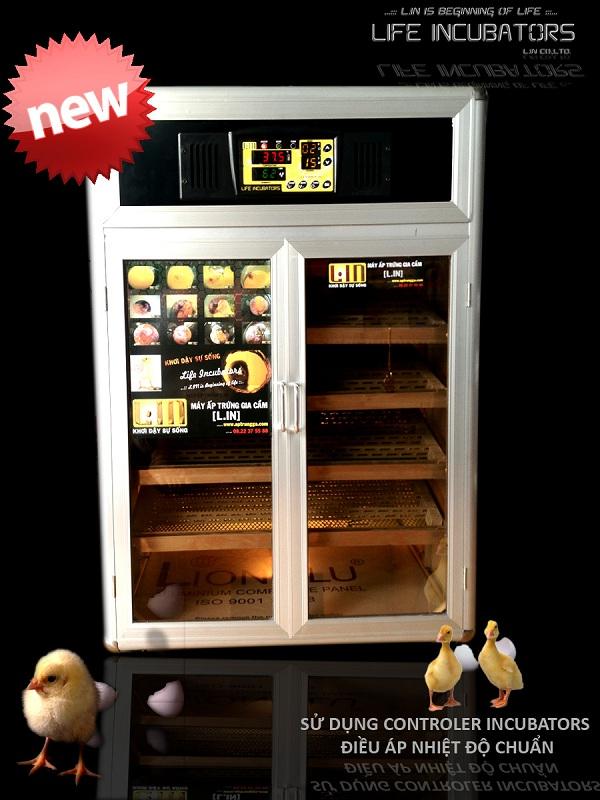 Máy ấp trứng 1200 L.IN điều áp LDI-1200 hinh anh 1