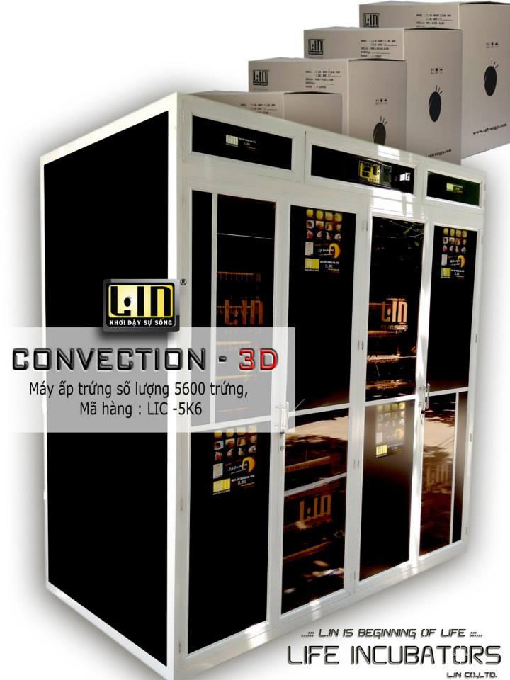 Máy ấp trứng 5600 trứng CONVECTION LIC-5600 hinh anh 1