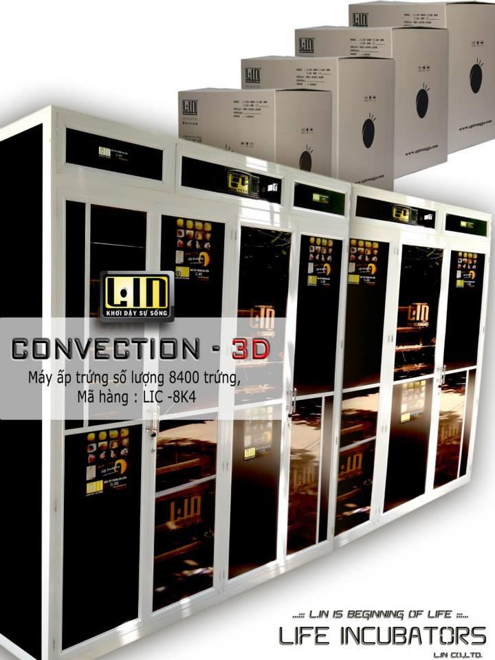 Máy ấp trứng 8400 trứng CONVECTION LIC-8400 hinh anh 1