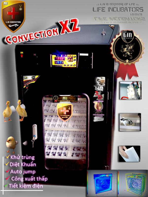 Máy ấp trứng CONVECTION LX2-200 hinh anh 1