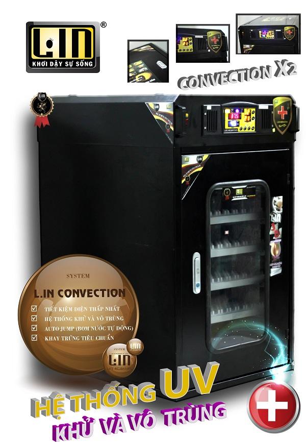 Máy ấp trứng CONVECTION LX2-500 hinh anh 1