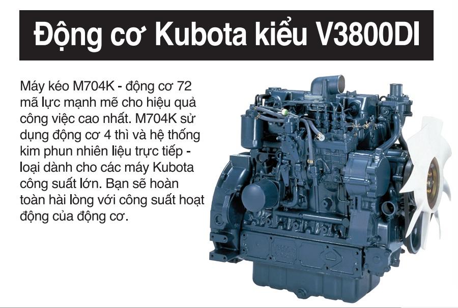 Máy kéo Kubota M704K hinh anh 4