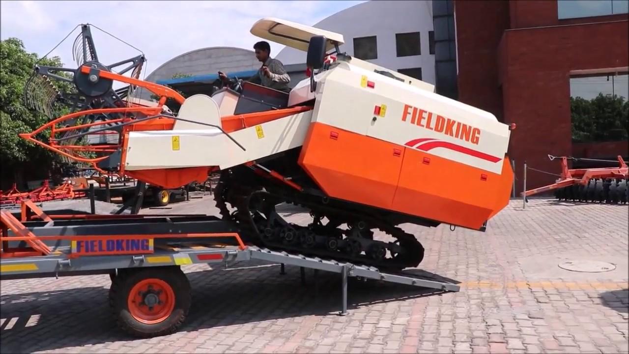 Máy gặt đập liên hợp Fieldking 2.20 hinh anh 5