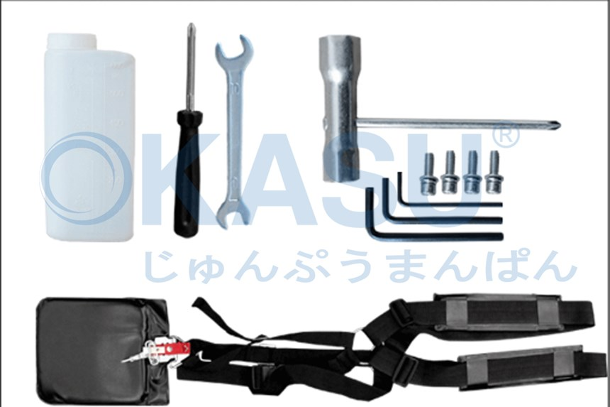 Máy cắt cỏ OKASU OKA-330X hinh anh 2