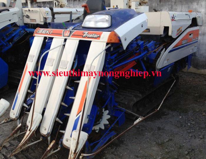 Máy gặt đập liên hợp Iseki HF 433 hinh anh 3