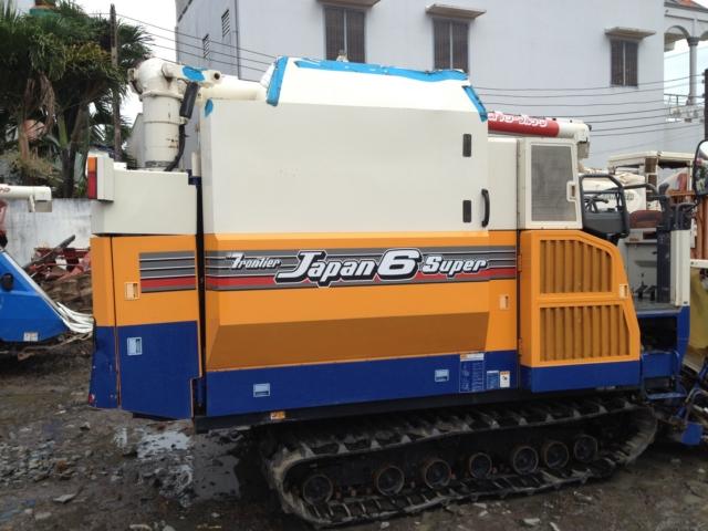 Máy gặt đập liên hợp Iseki Japan 6 hinh anh 2